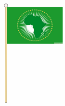 HAND WAVING FLAG - AFRICAN UNION